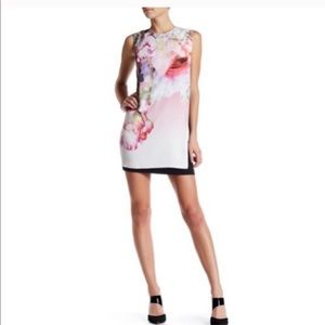 Ted Baker milisa pure peony sleeveless dress